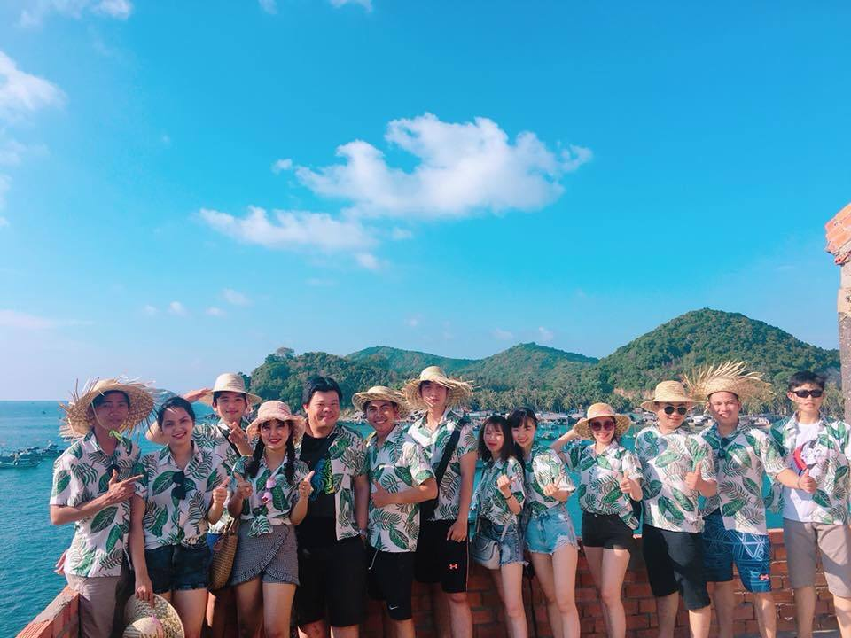 Annual Vacation 2018 in NAM DU Island